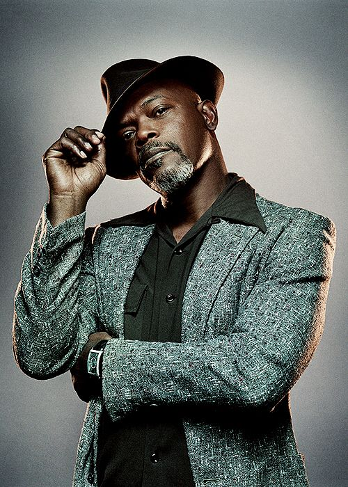 Samuel L. Jackson. He would probably still look cool with a tea pot on his head.