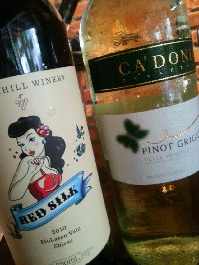 Wines served at Wine Wednesdays at Eola Wine Co #OrlTaste #WineWednesdays