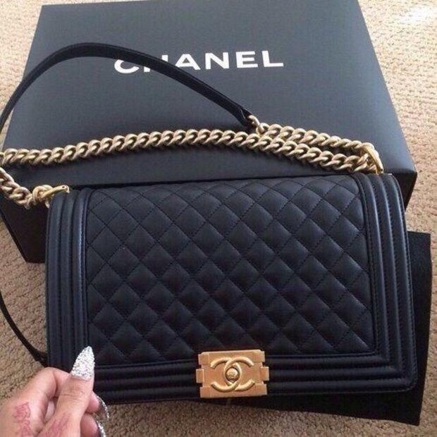 Shosouvenir Chanel Women Fashion Ping Leather Multicolor Shoulder Bag Satchel Crossbody