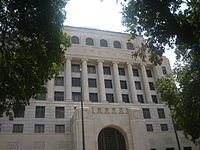 The upper tier of the Caddo Parish Courthouse on Texas Street in Shreveport. The courthouse caught the eye of Harry S. Truman who hired its ...