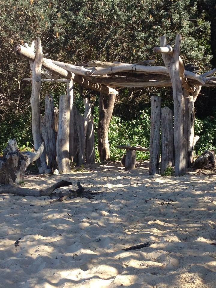 Sculpture on our beach, Mylestom NSW (North Beach for us locals)