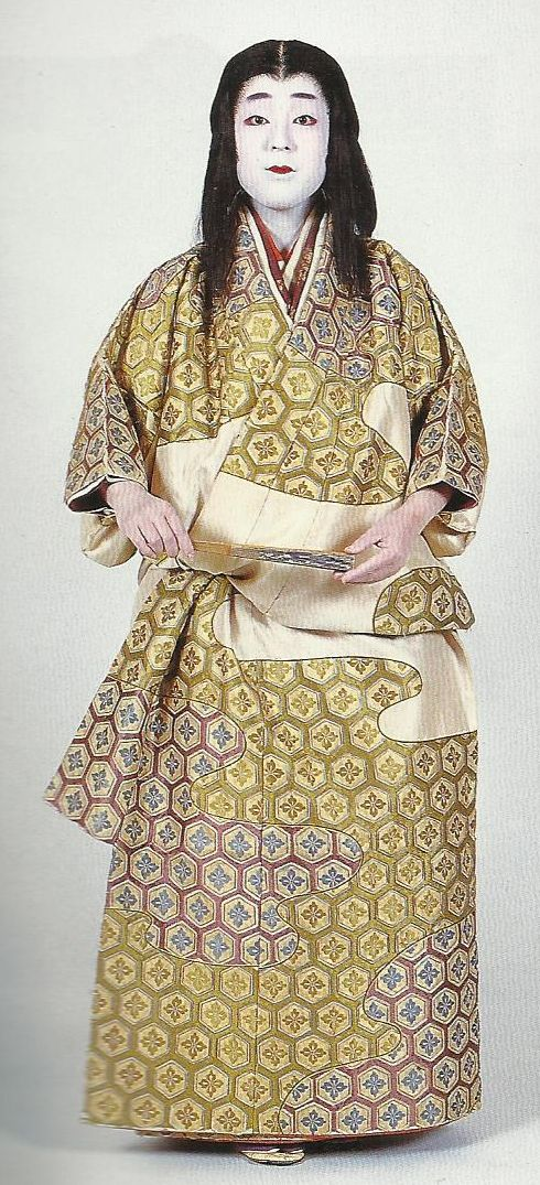 """Scan J1: Scan from book """"The History of Women's Costume in Japan."""" Scanned by Lumikettu of Flickr. Exacting recreation of Japanese costume many centuries ago…"""