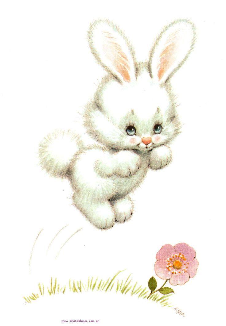 Cute Bunny! ♥ see more cartoon pics www.freecomputerdesktopwallpaper.com/wcartoonsfive.shtml
