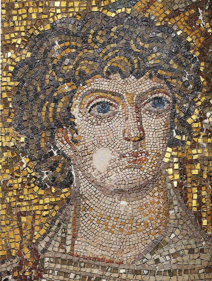 Rotonda di San Giorgio, Salonicco, I mosaici, la metà del V secolo. Sant'Onesiforo