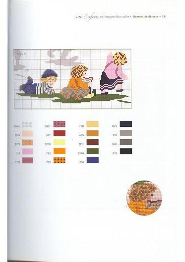 100 enfants - Point de croix - Leela - Picasa Albums Web