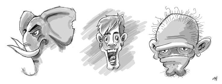 Fun Wacom - Speed drawing!
