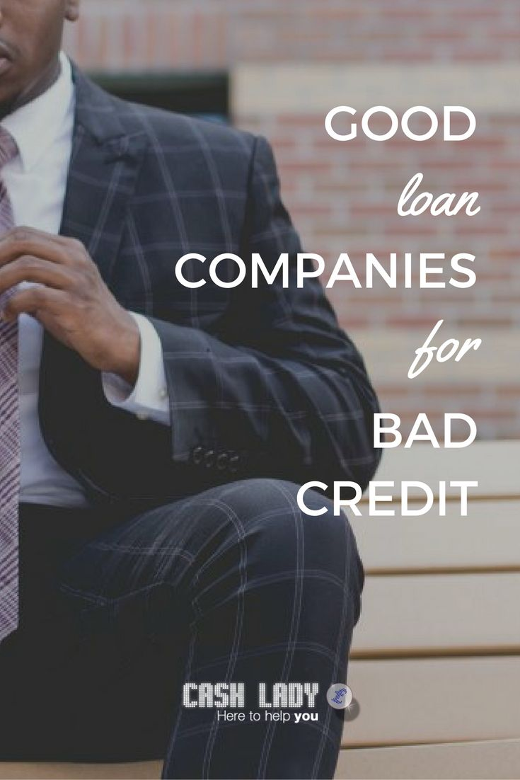 Cash Lady looks at the best companies for bad credit loans