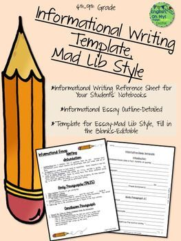 which are appropriate writing styles for an informational paper Supporting informational writing in the these are both appropriate paths to (2011), supporting informational writing in the elementary grades the.