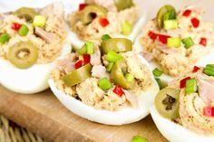 5 idei de ouă umplute pentru masa festivă de Paște   Retete culinare - Romanesti si din Bucataria internationala