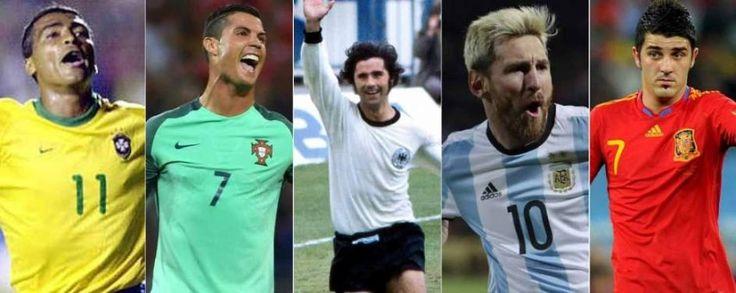 Los Grandes Goleadores de la Historia