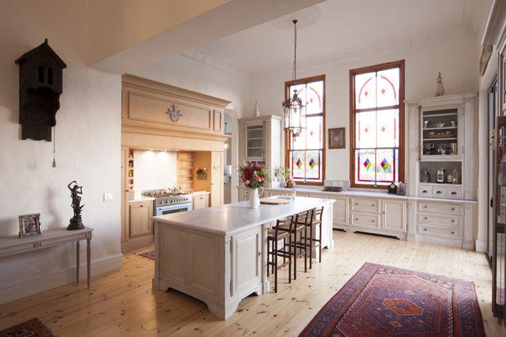 The gorgeous kitchen windows
