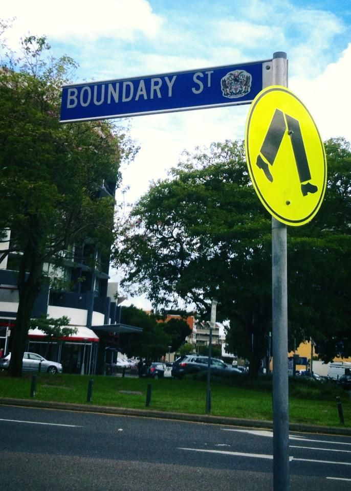 An actual street in Brisbane. Took this photo during my hypnotherapy course. Interesting story... 2013