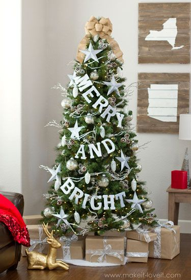 When Michaels challenged their favorite bloggers to creatively dress their Christmas trees for the holidays, the bloggers certainly did not disappoint! Here, 14 of our favorites.