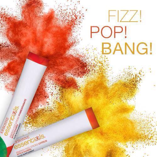 #Arbonne Essentials #energy fizz sticks! Visit my web store at nancyoleary.arbonne.com