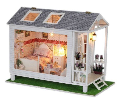 Diy Miniature Doll House Flat Packed Cardboard Kit Mini: 340 Best Images About LLL Dollhouses On Pinterest