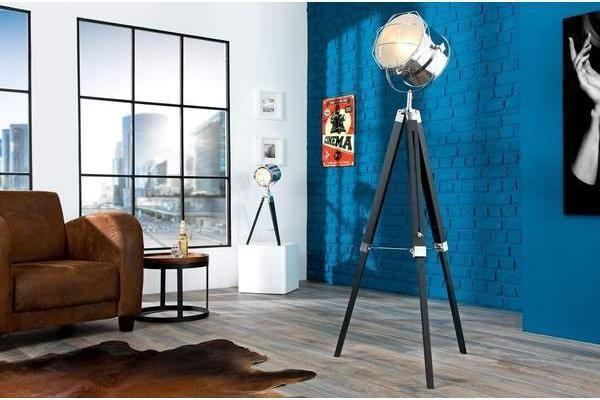 Tripod Fekete Krom Allolampa 110 150 Cm Home Home Decor Home Appliances