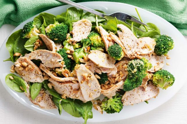Broccoli and Chicken Salad corehealthcoaching.com.au #personaltraining #nutrition #food