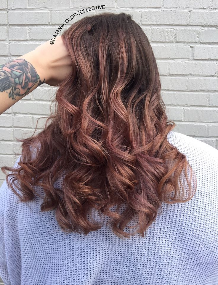 Rose Brown achieved with Joico Color Intensity! rosebrown