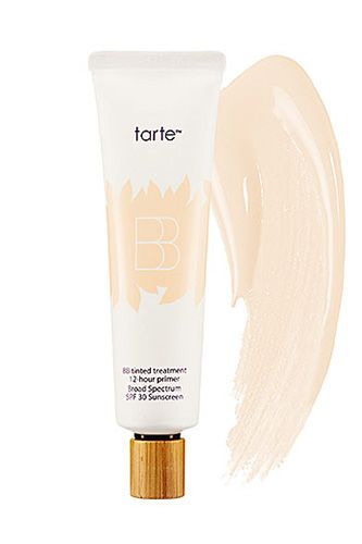 "29 Beauty Products We Won't Live Without  #refinery29  http://www.refinery29.com/63936#slide-9  ""I live and breathe for Tarte's BB cream — to the point where once a month, I always find myself rolling it up to squeeze out the very last drop. It gives weightless, moderate coverage that makes my skin look flawless. Why wouldn't I use it all day, every day?"" - Gabrielle Korn, beauty assistant ..."