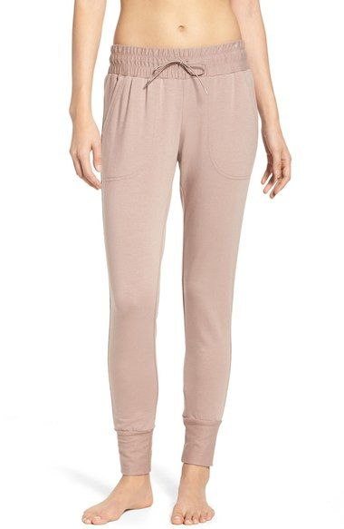 Free People Skinny Sweat Jogger Pants available at #Nordstrom- BLACK IN SIZE SMALL