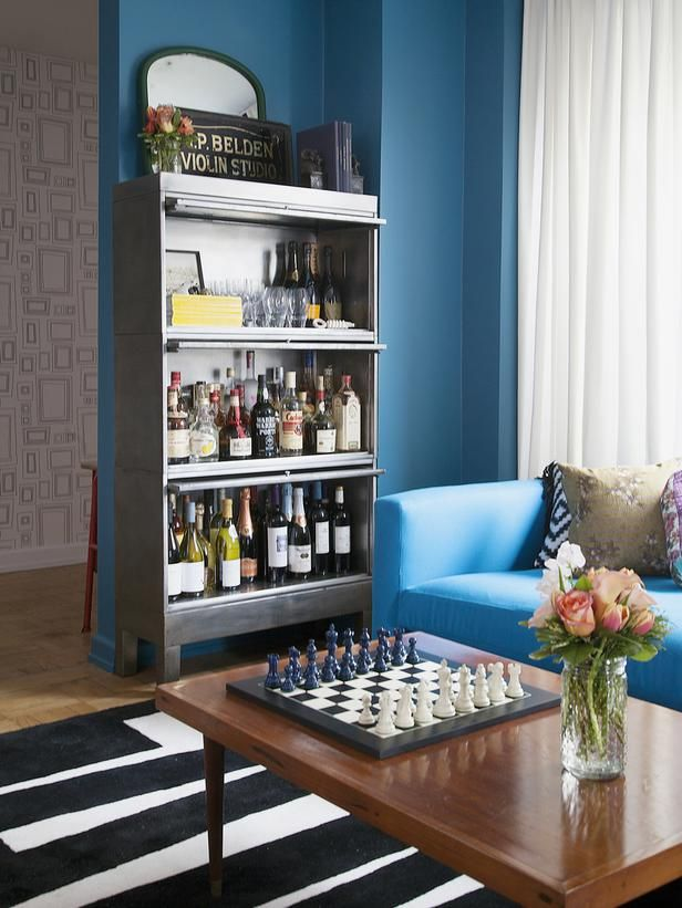 62 best bookcase bar images on Pinterest Bookcase bar, Bookcases - bar ideas for living room