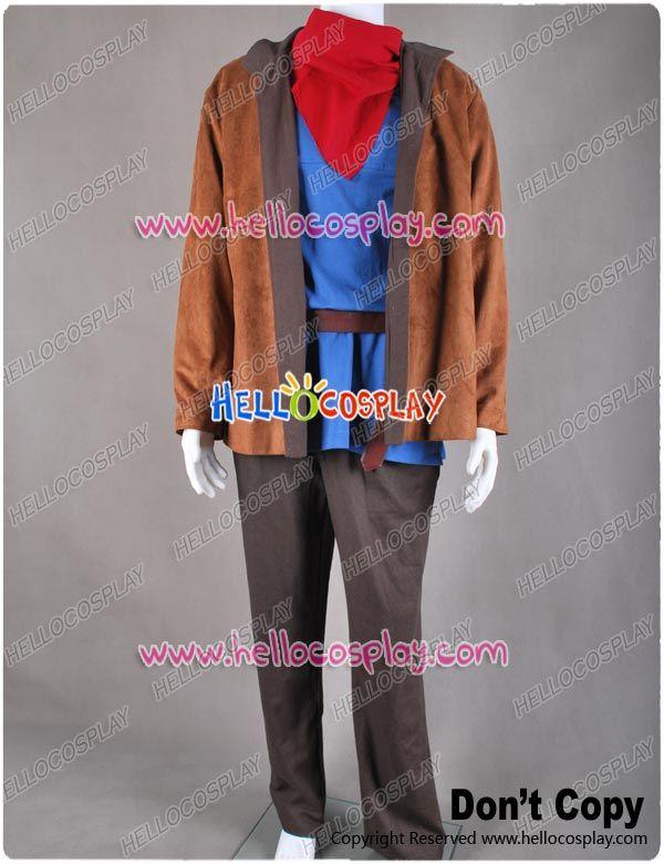 Merlin Cosplay Costume Full Set