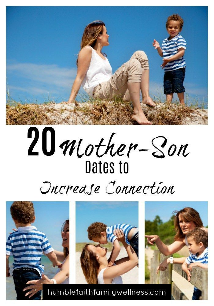Create precious and lasting memories with these Mother-Son dates!