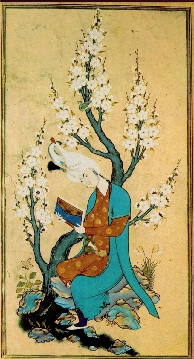 Sultan Muhammad c.1475- c.1550 Turkish- WikiPaintings.org