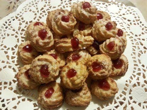 Biscotti con pasta di mandorle- Video ricetta