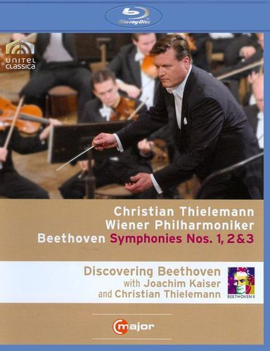 Christian Thielemann/Wiener Philharmoniker: Beethoven - Symphonies Nos. 1, 2 & 3 [Blu-ray] [2008]