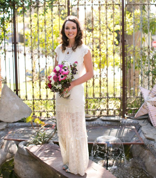 Dresses For Vow Renewal Ceremony: Charming At Home Vow Renewal