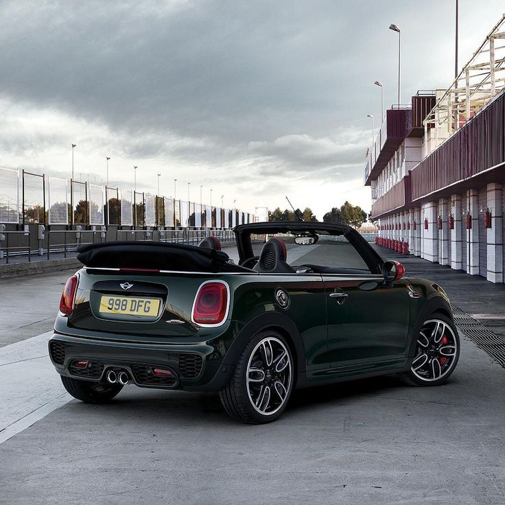 Drop the top and boost the performance. Experience #MINIThrillMaximised in the #MINI #JohnCooperWorks #Convertible. #MINI #JohnCooperWorks #Convertible #MINIThrillMaximised