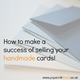 Selling Handmade Cards - Don't forget to add your contact details!