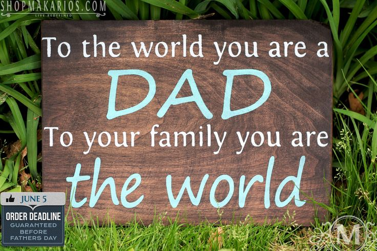 Fathers Day Sign