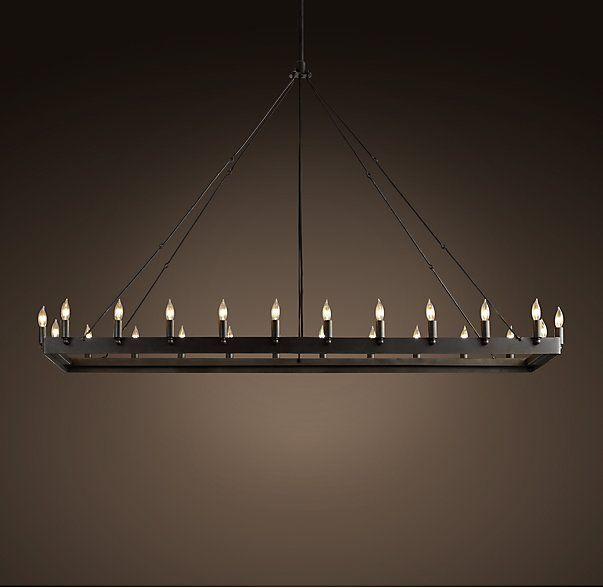 Best 25 rectangular chandelier ideas on pinterest - Modular lighting paris ...