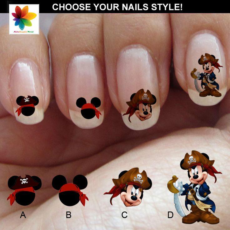 37 best Disney Nail Art images on Pinterest   Disney nails art ...