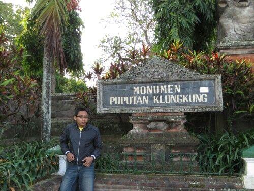 Gak sengaja mampir ke monumen klungkung ini :)