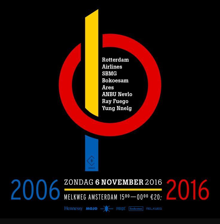 RAMG @ Puna 10 jarig bestaan, Melkweg Amsterdam (6-11-2016)