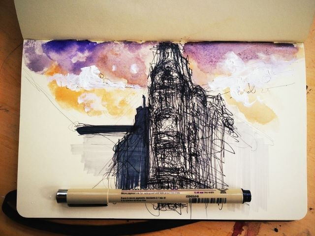 Quick architectural sketch