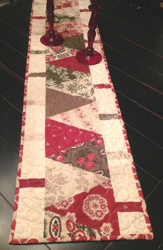 14 x 54 Modas French General Fabric, Fa La La La La Collection  Antiquity and Victorian Feel  Backing is from French Generals La Fete de Noel
