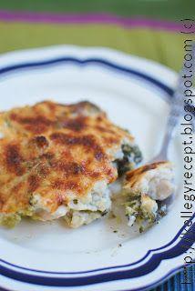 Mandy kertje és konyhája: Brokkolis rakott csirke