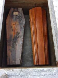 Exhumation, réduction de corps, cimetière