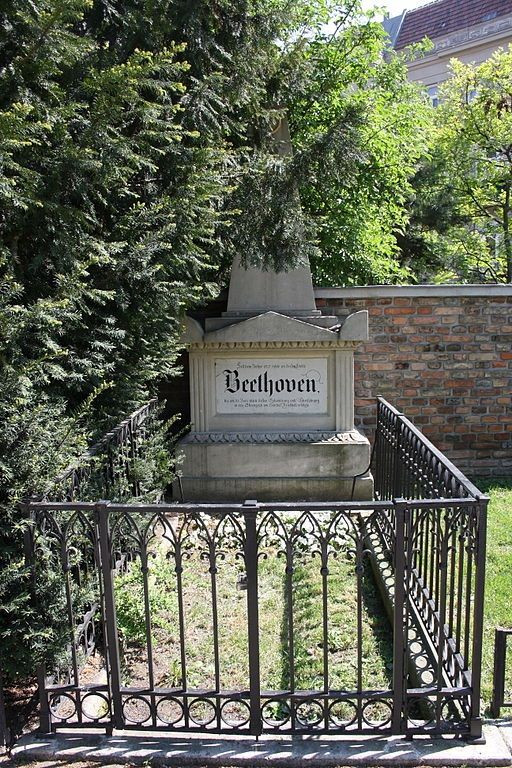 Ludwig van Beethoven - [original burial site] German composer and pianist. A crucial figure in the transition between the Classical and Romantic eras in Western art music, he remains one of the most famous and influential of all composers.
