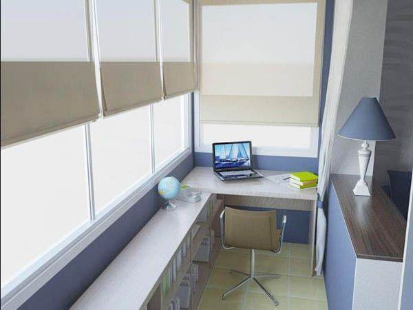 balcony office ideas - Google Search
