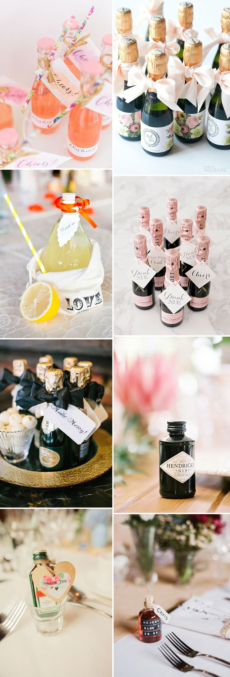 Beautiful & unique wedding favours your guests will actually love including edible and drinkable gifts and fun and eco-friendly ideas