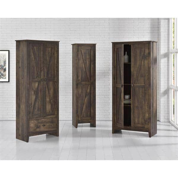 office Avenue Greene Becken Ridge Brown 31.5 inch Wide Storage Cabinet