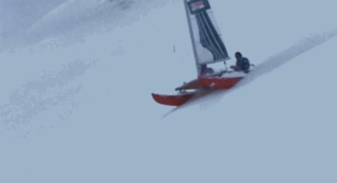 """Check Out This Odd '80s Film Featuring A Catamaran Shredding Down A Snowy Mountain -  Check Out This Odd '80s Film Featuring A Catamaran Shredding Down A Snowy Mountain We're definitely adding """"Apocalype Snow III"""" to our list of good bad movies we want to see as soon aspossible. Fecha: September 30 2016 at 01:02PM via Digg: http://ift.tt/2cHaP4n - Sigueme en mi página de Facebook: http://ift.tt/1Unt1E1 - Etiquetas: Comico Curiosidades Digg Diversion Entretenimientos Funny Gracioso Guanare…"""