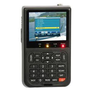 Mesureur de Champ Satellite DVB-S FTA - écran couleur TFT LCD  3.5 pouces