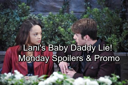 Days of Our Lives Spoilers: Monday, January 15 - Lani Pretends Baby Is JJ's – Gabi and Eli Make Love | Celeb Dirty Laundry