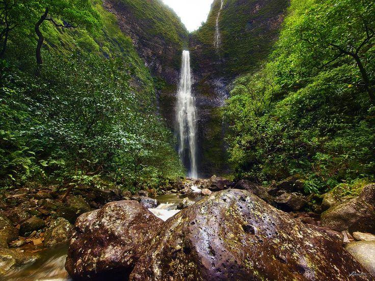 Hanakapi'ai-Falls-Hawaï